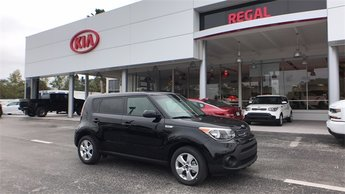 2018 Kia Soul Base 4 Door 1.6L 4-Cylinder Engine Crossover