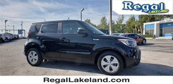 2015 Black Kia Soul Base Automatic Crossover FWD 4 Door 1.6L I4 DGI Gamma Engine