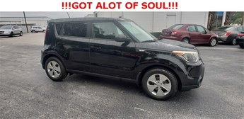 2014 Shadow Black Kia Soul Base FWD 4 Door Automatic Crossover