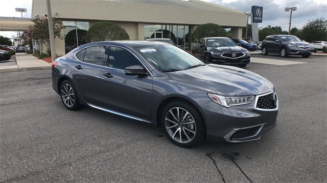 2018 Modern Steel Acura TLX 3.5L V6 w/Technology Package FWD Sedan Automatic