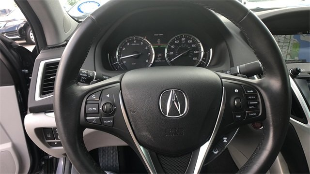 2018 Acura TLX 3.5L V6 w/Technology Package Sedan 4 Door FWD