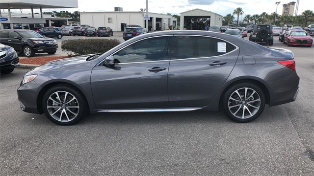 2018 Modern Steel Acura TLX 3.5L V6 w/Technology Package 4 Door FWD Automatic