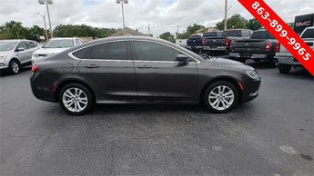 2016 Chrysler 200 Limited FWD 2.4L 4-Cylinder SMPI SOHC Engine 4 Door Sedan Automatic