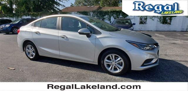 2017 Silver Ice Metallic Chevrolet Cruze LT Automatic 1.4L 4-Cylinder Turbo DOHC CVVT Engine FWD