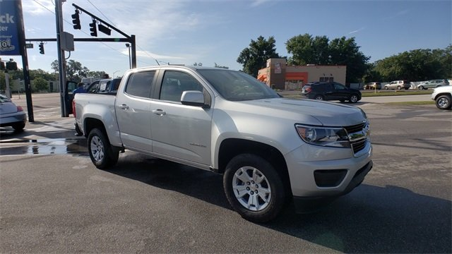 2018 Silver Ice Metallic Chevrolet Colorado LT Truck Automatic V6 Engine