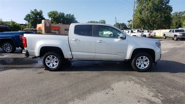 2018 Silver Ice Metallic Chevrolet Colorado LT Truck Automatic RWD