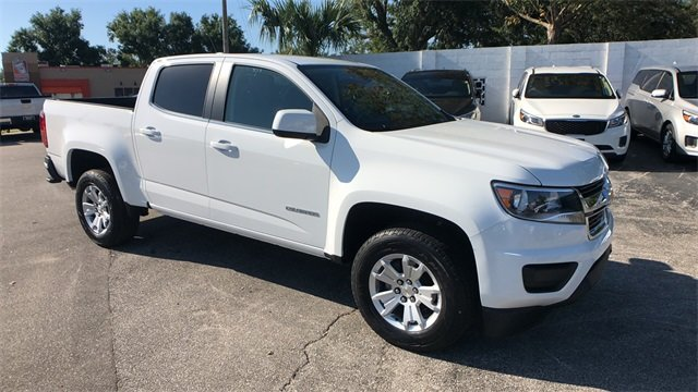 2018 Summit White Chevrolet Colorado LT 4 Door V6 Engine Automatic