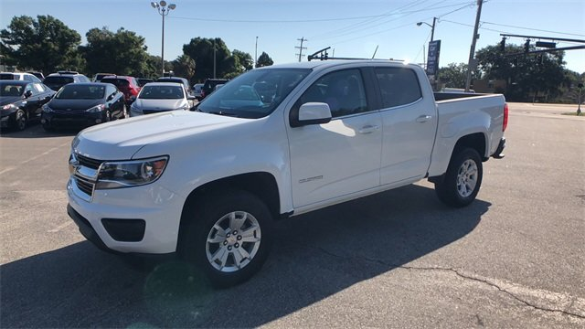 2018 Summit White Chevrolet Colorado LT Automatic RWD 4 Door V6 Engine Truck