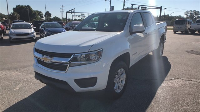 2018 Summit White Chevrolet Colorado LT 4 Door Truck V6 Engine RWD Automatic
