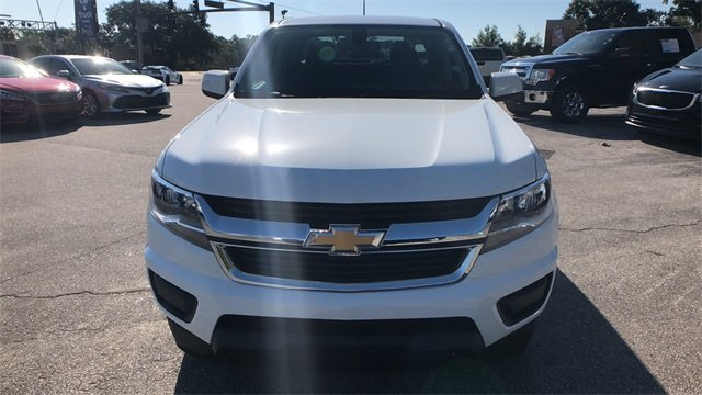 2018 Summit White Chevrolet Colorado LT V6 Engine RWD Automatic Truck 4 Door