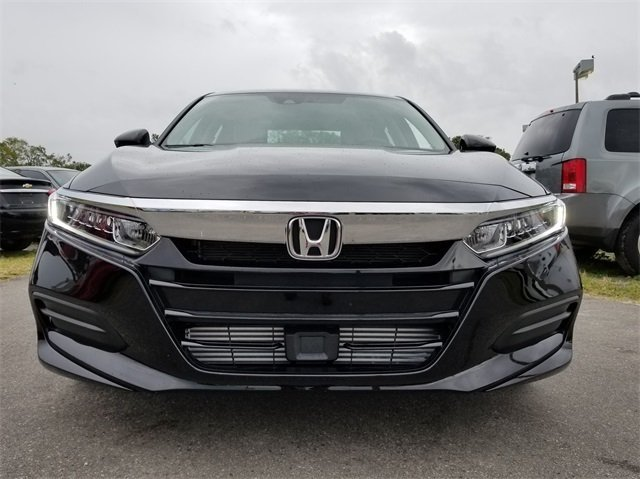 2018 Crystal Black Honda Accord LX 4 Door FWD Automatic (CVT)