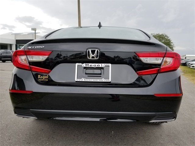 2018 Honda Accord LX I4 DOHC 16V Turbocharged Engine Sedan 4 Door FWD