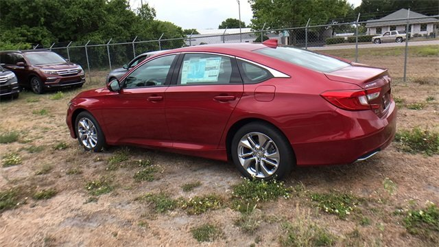 2018 Honda Accord LX Sedan 4 Door Automatic (CVT) I4 DOHC 16V Turbocharged Engine