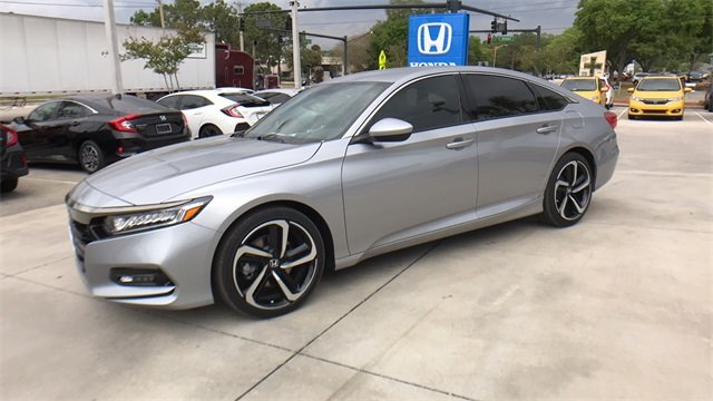 2018 Honda Accord Sport Sedan 4 Door I4 DOHC 16V Turbocharged Engine FWD