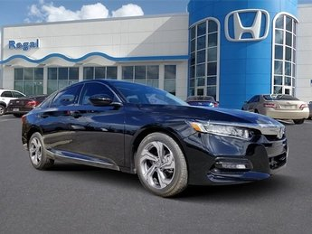 2018 Honda Accord EX Automatic (CVT) I4 DOHC 16V Turbocharged Engine 4 Door Sedan
