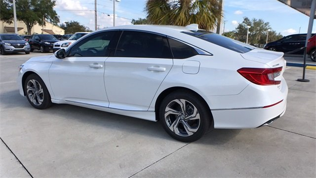2018 Diamond White Honda Accord EX Sedan Automatic (CVT) 4 Door FWD