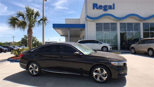 2018 Kona Coffee Honda Accord EX I4 DOHC 16V Turbocharged Engine Automatic (CVT) FWD