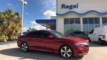 2018 Scarlet Honda Accord Touring 4 Door FWD Automatic (CVT)