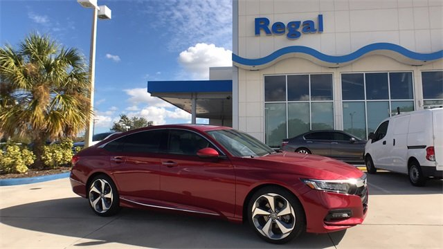 2018 Honda Accord Touring I4 DOHC 16V Turbocharged Engine Automatic (CVT) Sedan FWD