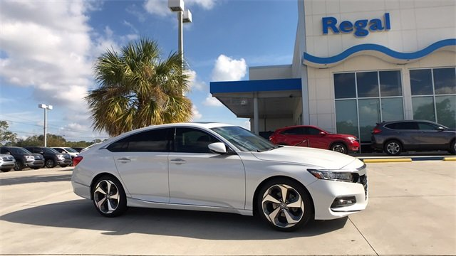 2018 honda accord touring fwd sedan for sale in lakeland fl 18h244. Black Bedroom Furniture Sets. Home Design Ideas