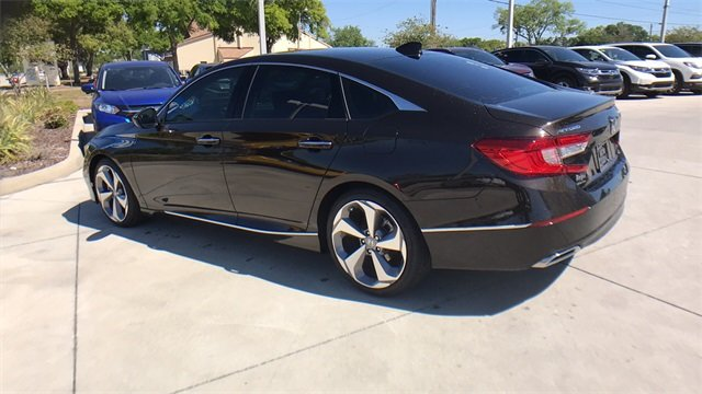 2018 Kona Coffee Metallic Honda Accord Touring I4 DOHC 16V Turbocharged Engine Automatic (CVT) FWD