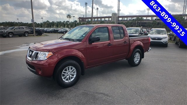 2017 Nissan Frontier SV 4 Door 4.0L V6 DOHC Engine Automatic