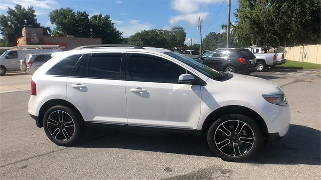 2013 White Suede Ford Edge SEL FWD SUV 3.5L V6 Ti-VCT Engine