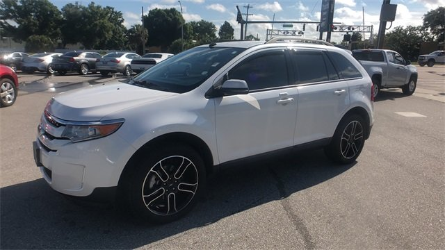 2013 White Suede Ford Edge SEL SUV FWD 4 Door 3.5L V6 Ti-VCT Engine