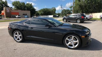 2015 Black Chevrolet Camaro SS 1SS Manual 6.2L V8 SFI Engine 2 Door RWD