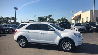 2017 Summit White Chevrolet Equinox LT 2.4L 4-Cylinder SIDI DOHC VVT Engine SUV Automatic 4 Door FWD