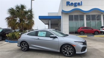 2018 Honda Civic Si Manual FWD Coupe 1.5L I-4 DI DOHC Turbocharged Engine 2 Door