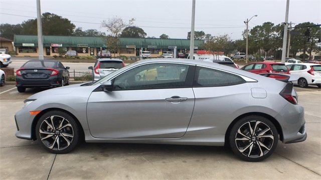 2018 Lunar Silver Metallic Honda Civic Si 2 Door FWD Coupe