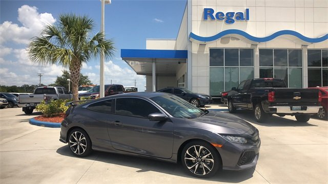 2018 Honda Civic Si Coupe 1.5L I-4 DI DOHC Turbocharged Engine Manual FWD