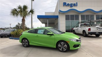 2018 Honda Civic EX-L Automatic (CVT) FWD 2 Door 1.5L I-4 DI DOHC Turbocharged Engine Coupe