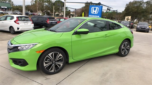 2018 honda civic ex l fwd coupe for sale in lakeland fl. Black Bedroom Furniture Sets. Home Design Ideas