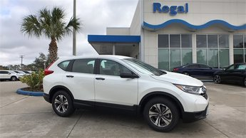 2018 Diamond White Honda CR-V LX 4 Door SUV FWD
