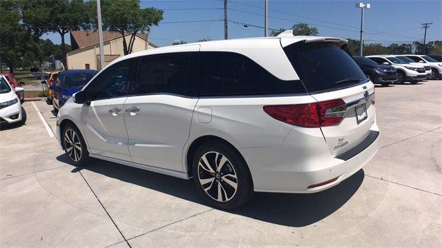 white honda van. 2018 diamond white honda odyssey elite van fwd automatic 4 door