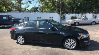 2017 Black Kia Optima LX FWD Sedan 2.4L I4 DGI DOHC Engine 4 Door Automatic