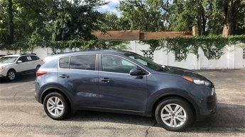 2018 Pacific Blue Kia Sportage LX 2.4L I4 DGI DOHC 16V Engine Automatic 4 Door FWD