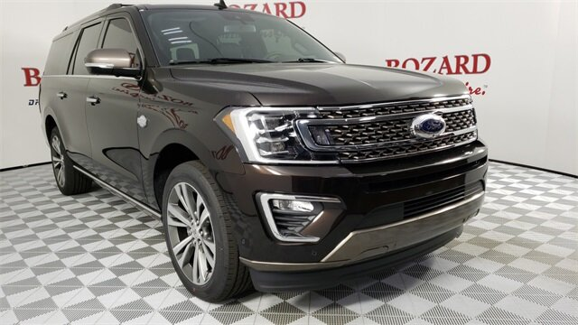 2021 Kodiak Brown Metallic Ford Expedition Max King Ranch 4 Door EcoBoost 3.5L V6 GTDi DOHC 24V Twin Turbocharged Engine Automatic SUV RWD