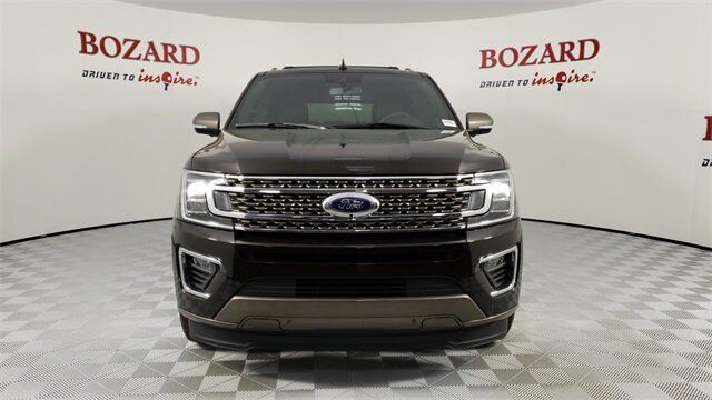 2021 Kodiak Brown Metallic Ford Expedition Max King Ranch RWD Automatic SUV 4 Door