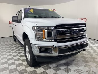2019 Ford F-150 XLT 4 Door 4X4 5.0L V8 Ti-VCT Engine Automatic