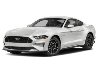 2020 Oxford White Ford Mustang GT Premium 5.0L V8 Ti-VCT Engine 2 Door Coupe RWD Automatic