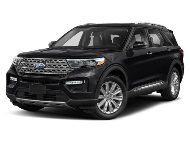 2021 Agate Black Metallic Ford Explorer XLT Automatic EcoBoost 2.3L I4 GTDi DOHC Turbocharged VCT Engine 4 Door SUV 4X4
