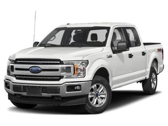 2019 Oxford White Ford F-150 XLT Automatic 4X4 EcoBoost 3.5L V6 GTDi DOHC 24V Twin Turbocharged Engine Truck