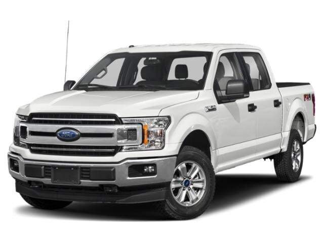 2019 Oxford White Ford F-150 XLT 4X4 Automatic Truck EcoBoost 3.5L V6 GTDi DOHC 24V Twin Turbocharged Engine 4 Door
