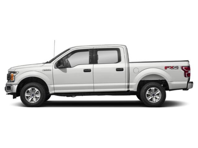 2019 Oxford White Ford F-150 XLT 4X4 EcoBoost 3.5L V6 GTDi DOHC 24V Twin Turbocharged Engine Automatic Truck