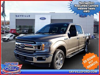 2018 Stone Gray Ford F-150 XLT 4WD SuperCrew 5.5 Box Truck 4 Door Automatic 4X4