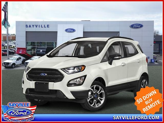 2021 Diamond White Ford EcoSport SES SUV 4X4 4 Door