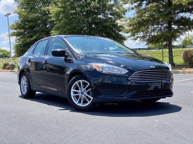 2018 Ford Focus SE EcoBoost 1.0L I3 GTDi DOHC Turbocharged VCT Engine Car FWD